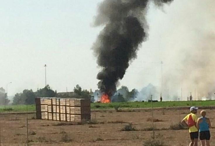 Caça Eurofighter cai após parada militar na Espanha e piloto morre