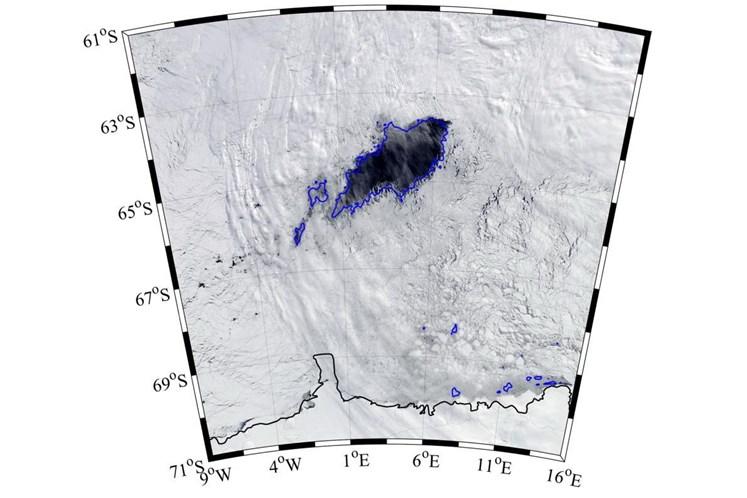 Antártida. Descoberto buraco no gelo maior que a Irlanda