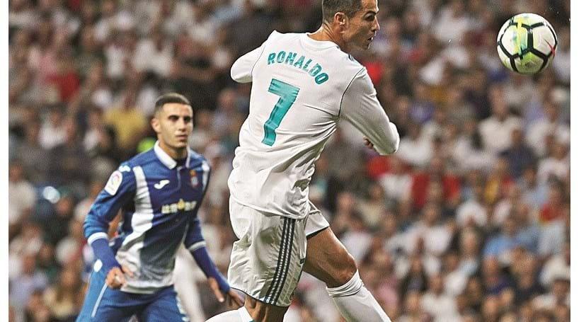 Ronaldo ainda não marcou, mas já assistiu e o Real venceu