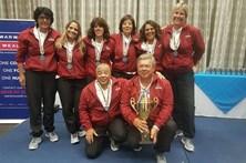 Seleção feminina vence campeonato do mundo de pesca desportiva
