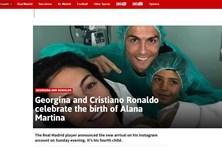 Nascimento da filha de Ronaldo faz manchete na imprensa internacional