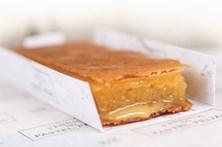 Um pastel de feijão cheio de requinte