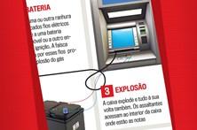 Assaltos a multibancos noticiados pelo CM