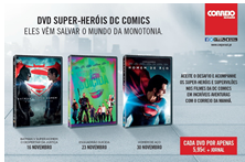 DVD Super-heróis DC Comics