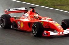Ferrari de Schumacher vendido por 6,3 milhões de euros