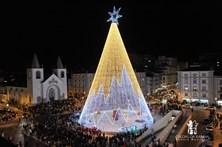 Natal das Caldas da Rainha iluminado com 3,5 milhões de lâmpadas