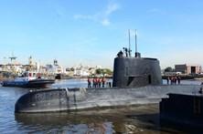 Submarino argentino desaparecido terá tentado enviar apelo