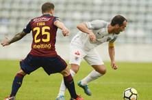Santa Clara afasta Desportivo de Chaves da Taça de Portugal