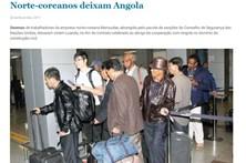 Cinquenta norte-coreanos abandonam Angola