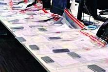 Ladrão rouba 53 telemóveis durante concerto