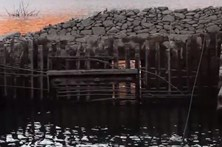 Seca no Lindoso mostra aldeia submersa há 25 anos