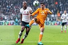 FC Porto e Besiktas empatam na Turquia