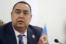 Tentativa de golpe de Estado na república separatista pró-russa de Lugansk