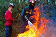 Incendiários lançam fogos com isqueiro