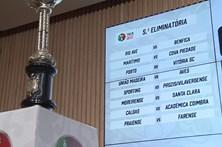 Fava na Taça de Portugal calhou ao Benfica