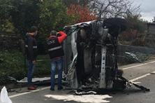 Um morto e cinco feridos em acidente com carrinha de idosos