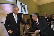 """Marcelo diz que Centeno é """"uma candidatura forte"""" ao Eurogrupo"""