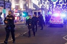 As imagens do pânico no centro de Londres