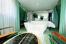 Um WC de luxo em Lisboa