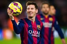 Messi eleito o melhor jogador da Liga espanhola 2016/17