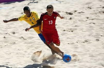 Portugal perde com o Brasil na final da Taça Intercontinental de futebol de praia