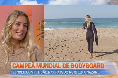 Campeã Mundial Joana Schencker