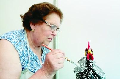 Júlia Ramalho candidata a prémio de artesanato