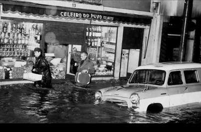 Há 50 anos, cheias em Lisboa fizeram mais de 500 mortos