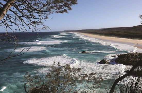 Praias imaculadas fazem de 'Straddie' um paraíso