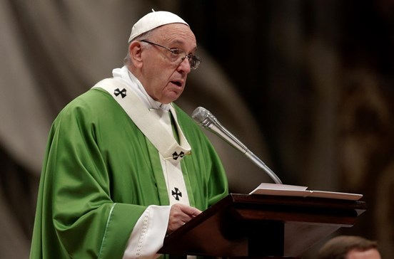 Papa Francisco apela ao fim da indiferença perante a pobreza