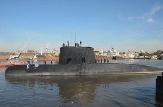 Marinha Argentina afasta que sons detetados sejam do submarino desaparecido