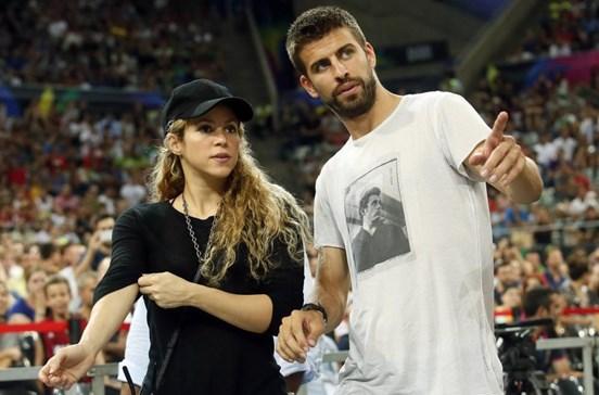 Shakira e Piqué em discussão acesa em restaurante