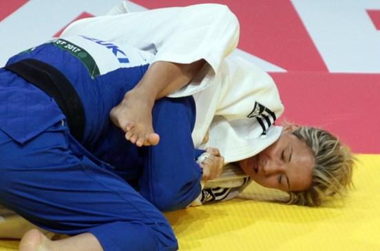 Judocas Joana Ramos e Telma Monteiro eliminadas no Grand Slam Tóquio