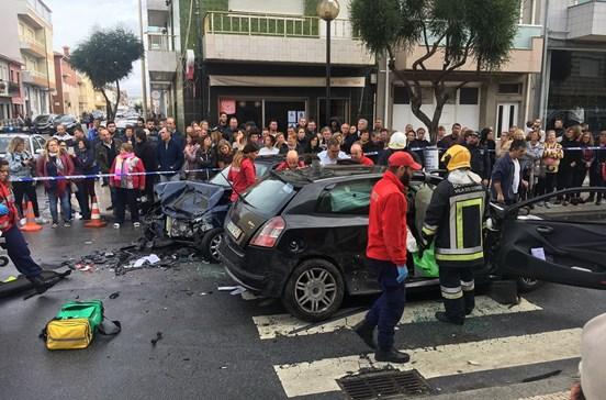 Acidente em Vila do Conde faz quatro feridos