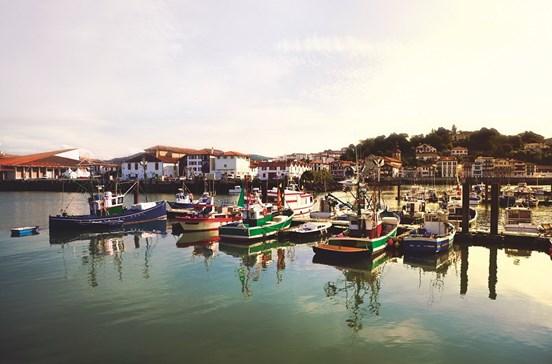 Descansar numa pitoresca vila piscatória basca