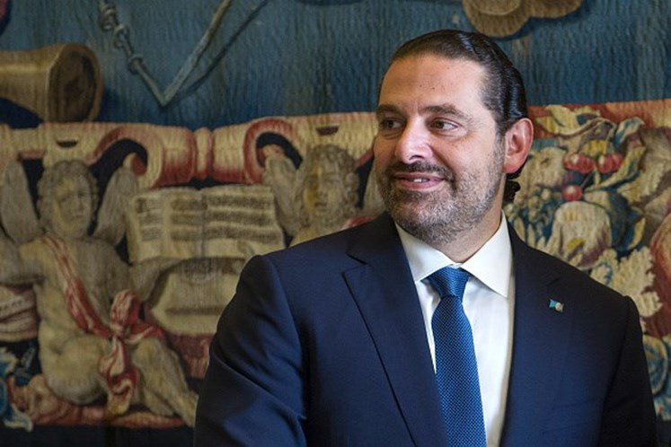 Primeiro-ministro libanês Saad Hariri deixa Paris rumo ao Cairo