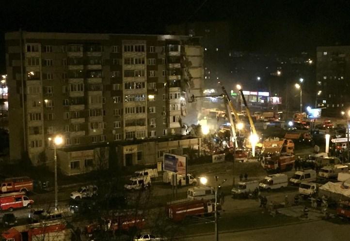 Explosão em prédio na Rússia mata duas pessoas