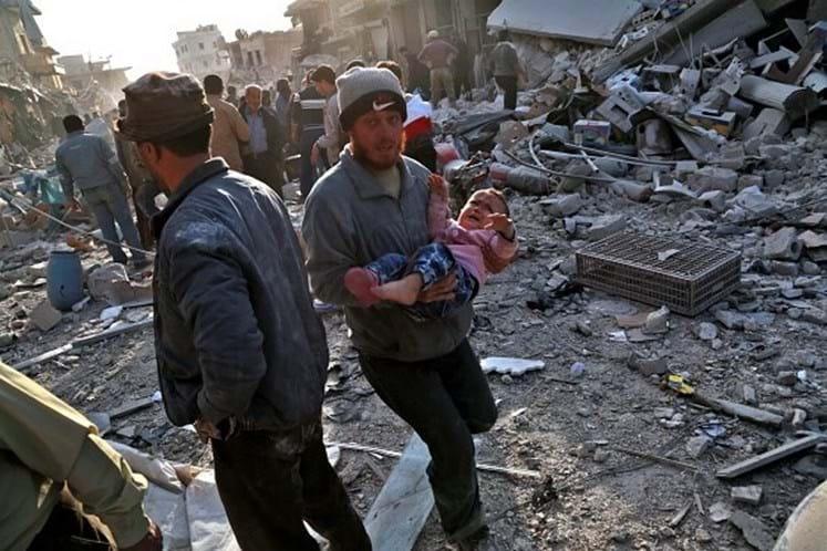 21 civis são mortos em ataques sobre 'zona de desescalada — Síria