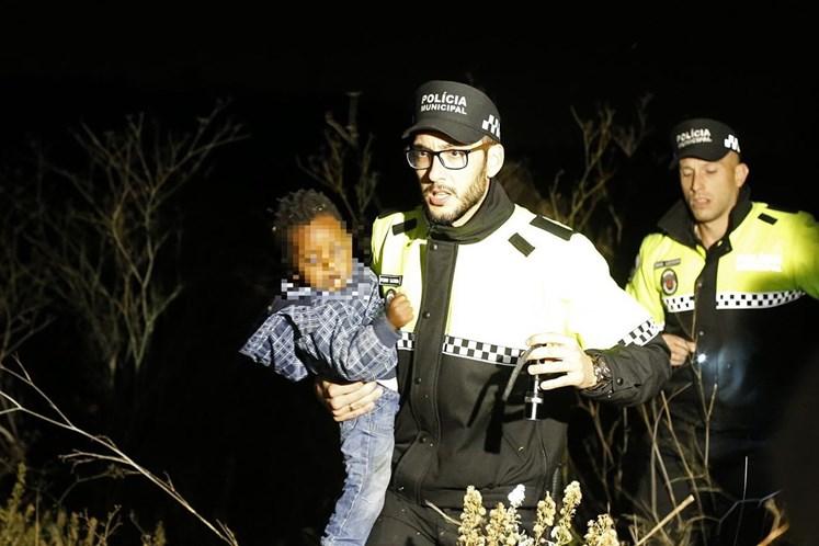 Sintra. Encontrada criança desaparecida em Casal de Cambra