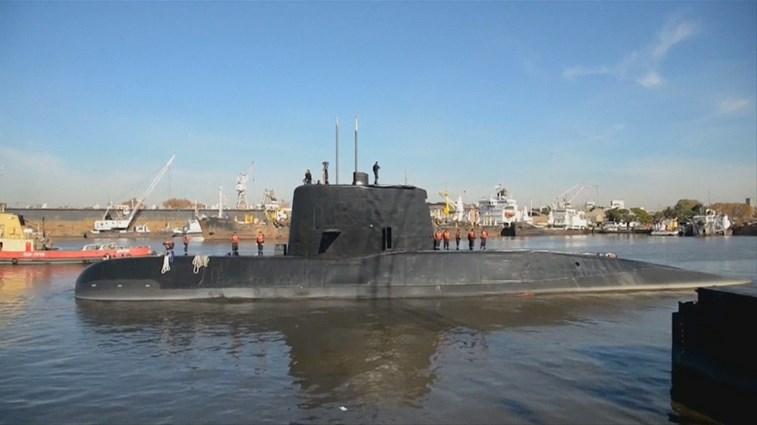 Teria ocorrido uma explosão no submarino, diz Marinha — Argentina