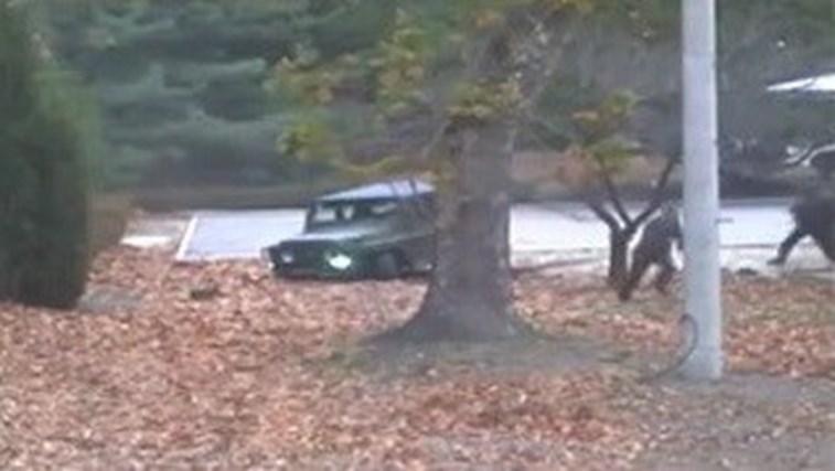 Vídeo dramático mostra soldado norte-coreano na fuga pela liberdade
