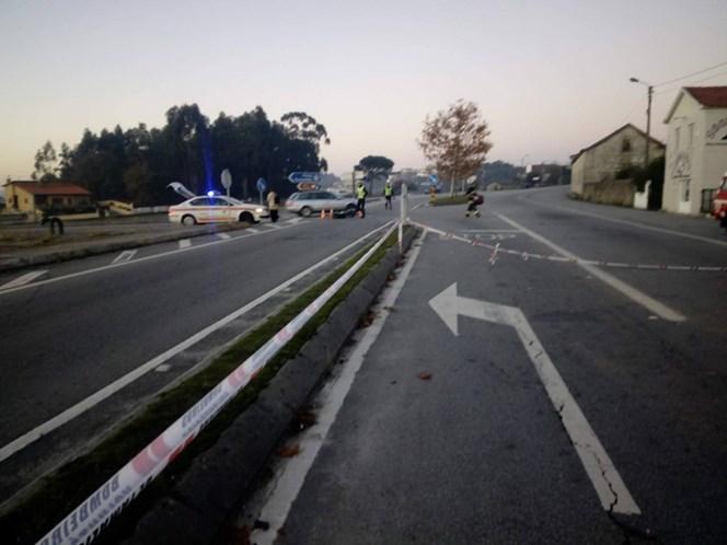 Colisão em Famalicão faz um morto e três feridos