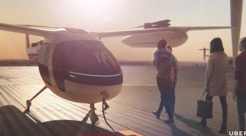 Uber quer operar carros voadores até 2020