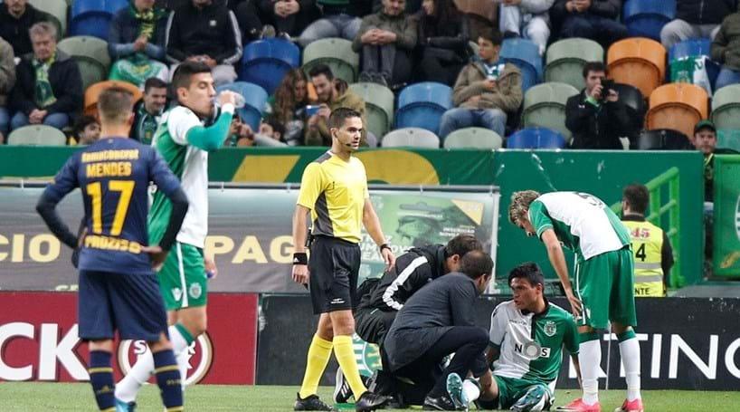 Jonathan Silva vai ter de passar por intervenção cirúrgica — Sporting