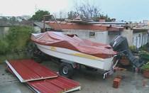 Casal de idosos desalojado pelo mau tempo em Oliveira do Douro
