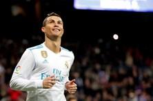 Ronaldo rendido à filha de Michel Salgado