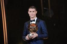 A noite da 5.ª Bola de Ouro de Ronaldo