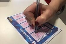 Euromilhões com jackpot de 126 milhões de euros na sexta-feira