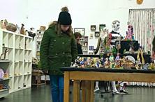 Casa artística vende miniaturas para o Natal