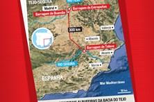 Conheça a situação das principais albufeiras da bacia do Tejo